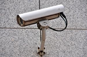 Cas particulier : caméras de surveillance d'extérieur